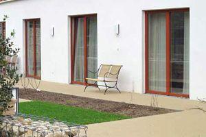 Splitterschutzfolien Erdgeschoss Terrassentür