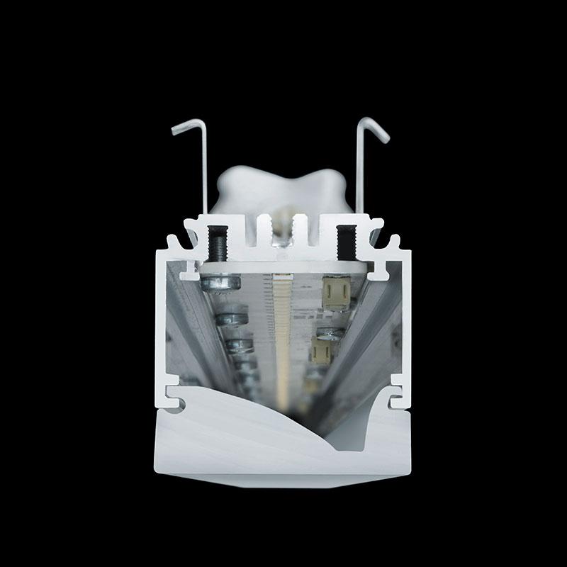 System40 - Wallwash - Querschnitt